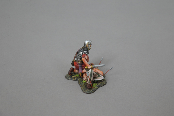 ROM116A Injured Legionnaire (Imperial red shield)