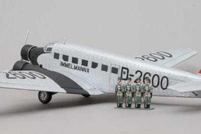 WOW146 JU-52 Silver