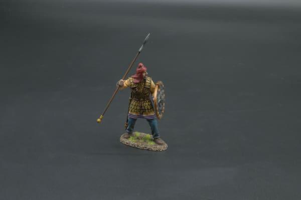 XE022A Persian Immortal Shouting (Oval Rams Head Shield)