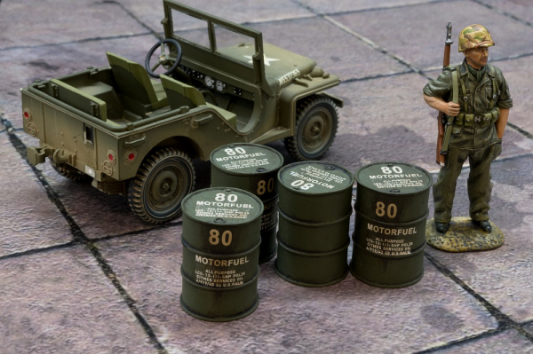 ACC PACK 064C US Barrels with 80 Motorfuel markings