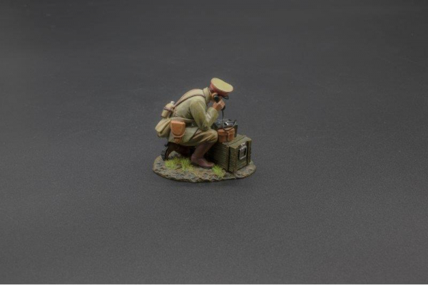 RS071 Japanese Officer on Field Telephone
