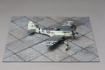 MAT004 Large Concrete Airfield Mat