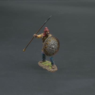 XE022B Persian Immortal Shouting (Circular Silver Shield)