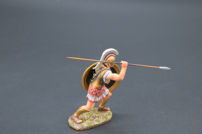 SPA019Q Hoplite with Zeus & Girl Shield Design