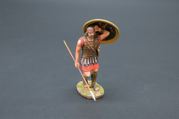 SPA031A Marching Hoplite with Lambda Shield Design