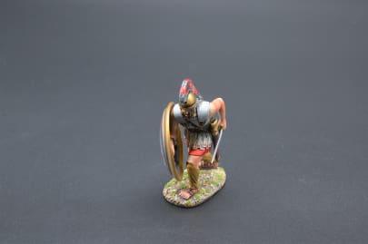 SPA022B Spartan with Zeus & Maiden Shield Design