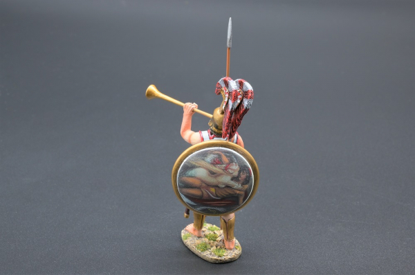 SPA016C Tubicen Musician (Mermaid Design on Shield)