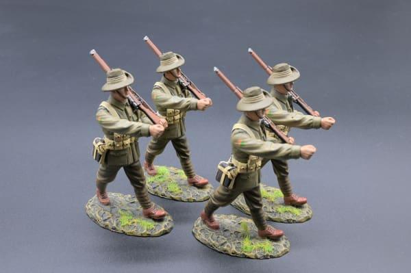 GW102A 19th Bn AIF Marching Australian Infantry