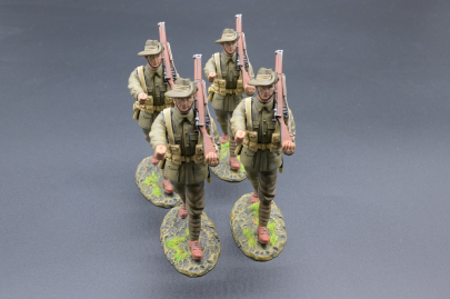 GW102A 19th Bn AIF Marching Australian Infantry