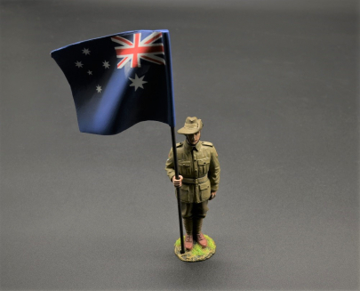 GW100E/C 19th Bn AIF Flag Bearer