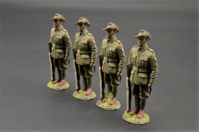 GW100C/B 26th Battalion Australian Soldiers on Parade