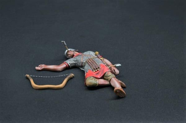 ROM037A Dead Archer (Silver Helmet)