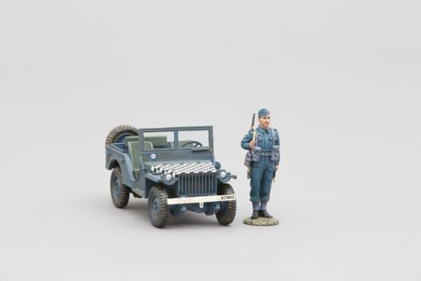 RAF004 RAF Bantam Jeep
